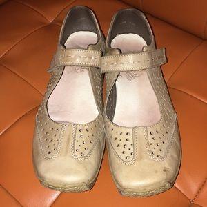 Comfy Rieker Mary Jane shoes